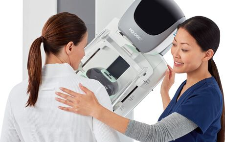 Mammogram procedure
